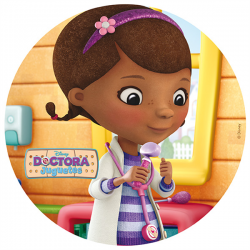 Wafer Disc Doc Mc Stuffins 20 cm