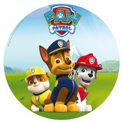 Paw Patrol Wafer Disc 20 cm