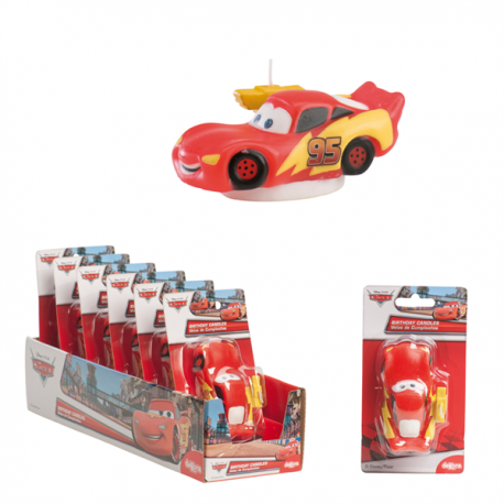 Cars Decorative Candle 8cm