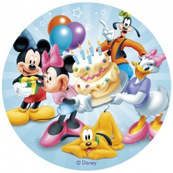 Wafer Disc Mickey&Minnie 20 cm