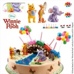 Kit Winnie The Pooh PVC 5,5cm