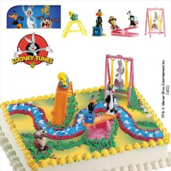 Kit Looney Tunes PVC 5,5cm