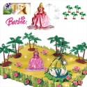 Kit Barbie Princess PVC 7cm
