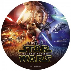 Star Wars Edible Disc 20cm