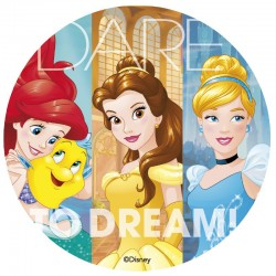 Disney Princess Edible DIsc 20cm