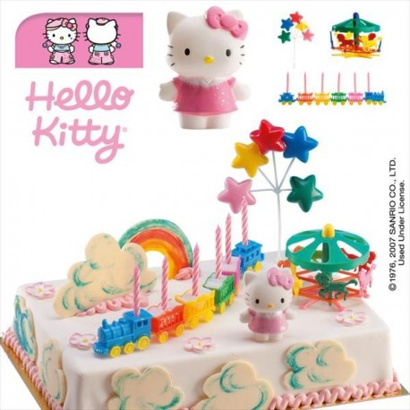 Kit Hello Kitty PVC 6,5cm