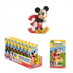 Mickey Candle N°3 6,5cm