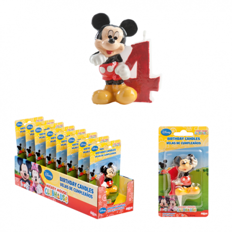 Mickey Candle N°4 6,5cm