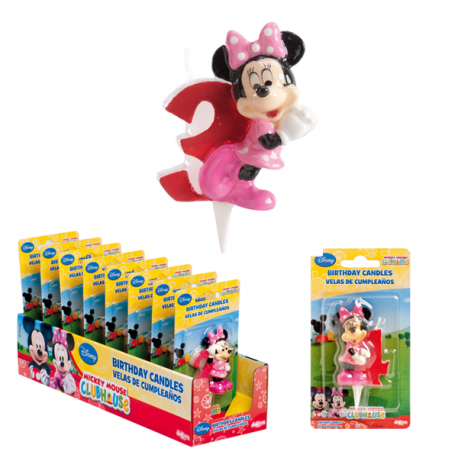 Minnie Candle N°3 6,5cm