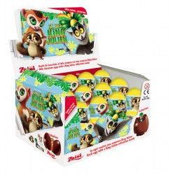 King Julien Milk Chocolate Eggs