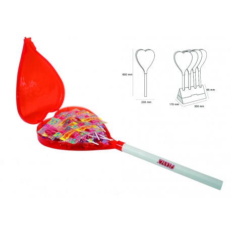 Mega Heart Lollipop