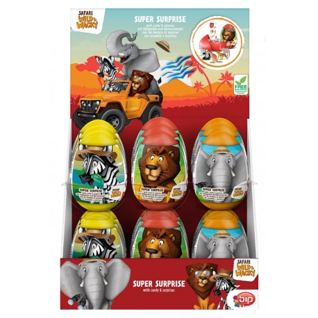 Safari Wacky & Wild Super Surprise Eggs