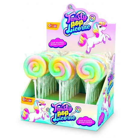 Sucettes Twisty Pop Licorne
