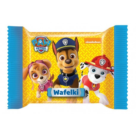 Paw Patrol Wafer with filling 30g
