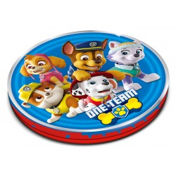 Paw Patrol Round Shaped Tin with Jelly 90g