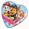 Paw Patrol Heart Shaped Tin with Jelly 80g
