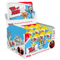 Tom & Jerry Milk Chocolate Eggs