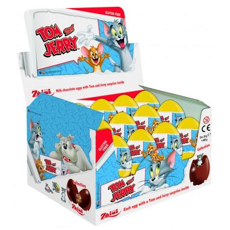 Tom & Jerry Milk Chocolate Eggs