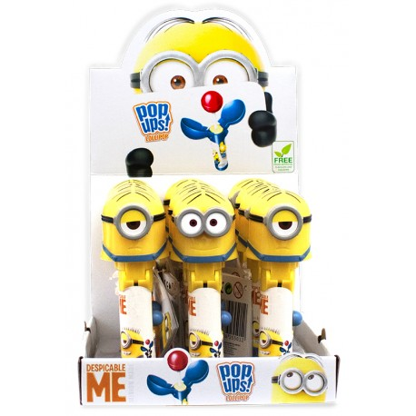 Minions Made Lolly Pop Ups