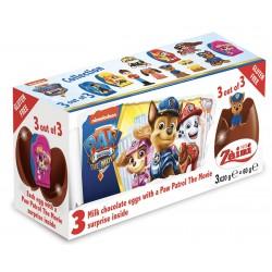 Paw Patrol 3pack Chocolate Eggs (3x20g)