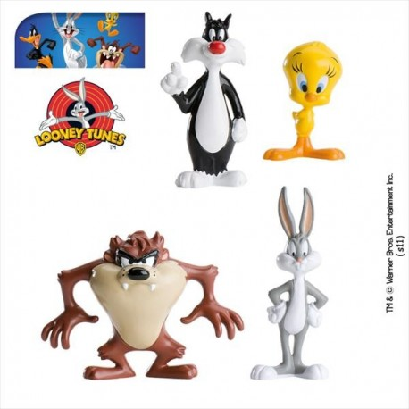 Looney Toones Set PVC 6-11 cm