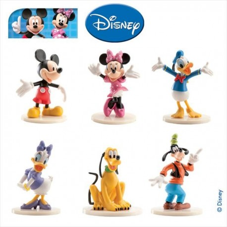 Mickey & Friends Set PVC 6-9 cm