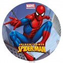 Spiderman Sugar Disc 20 cm