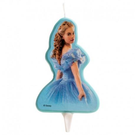 Cinderella Candle 2D 8 cm