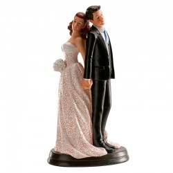 Wedding Figurine Back 20 cm