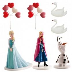 Kit Frozen PVC (Anna, Elsa, Olaf)