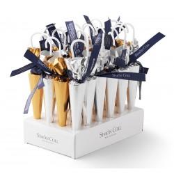 Deštníky ručně vázané Oro/plata 35g