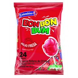 Bon Bon Bum Strawberry 17g, bag