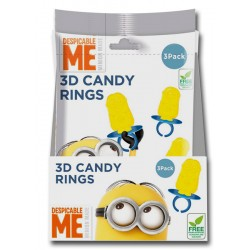 Minion Made 3D Candy Ring