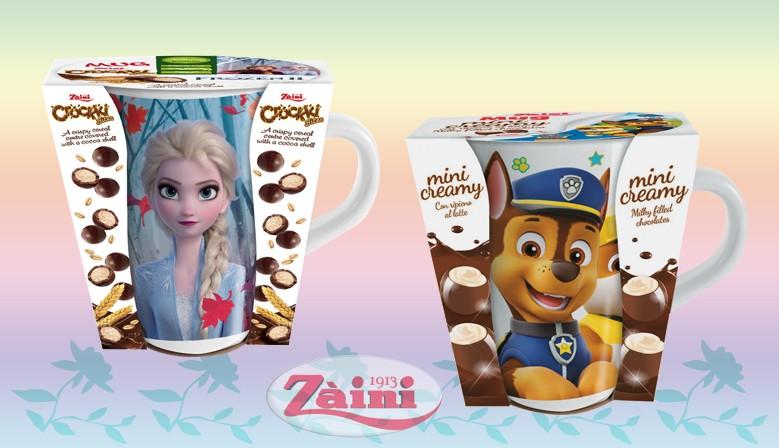 Frozen & Paw Patrol Mugs 3D